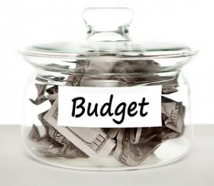 budget, no spend january
