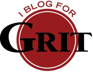 guess what? I'm blogging for Grit!
