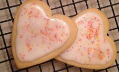 Valentine Sugar Cookie Cutouts