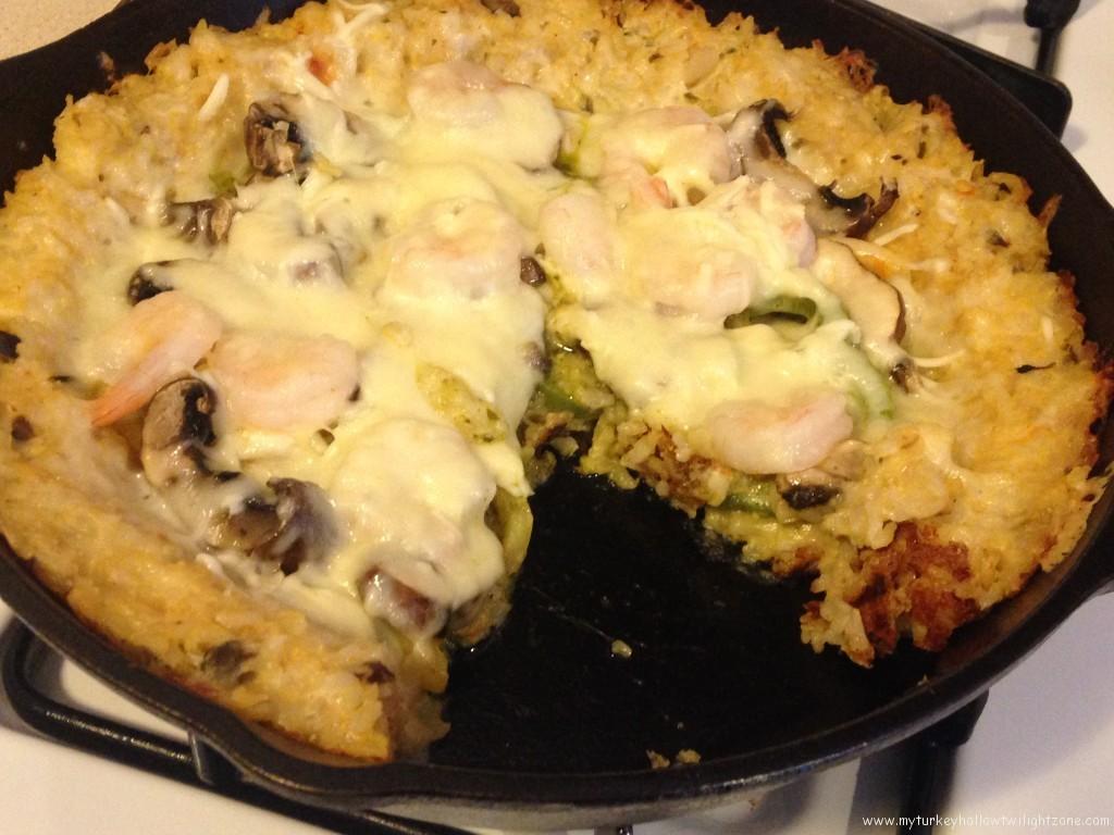 Rice crust