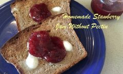 Homemade Strawberry Freezer Jam Without Pectin