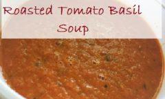 Freezing Roasted Tomato Basil Soup