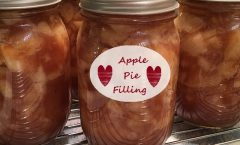 Apple Pie Filling for Canning or Freezing