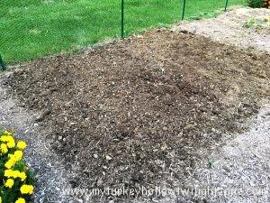 Preparing soil for planting