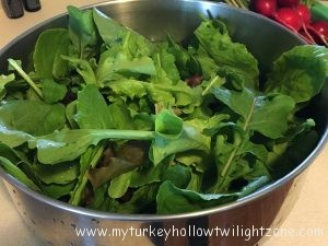 garden fresh mixed lettuce