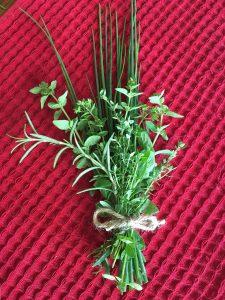 Selling herbs